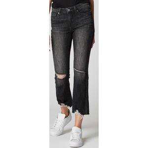 Blanknyc The Varick black crop jeans 8176